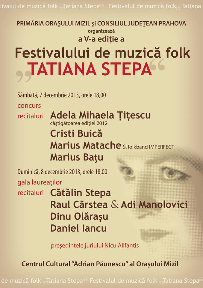 In Memoriam Tatiana Stepa